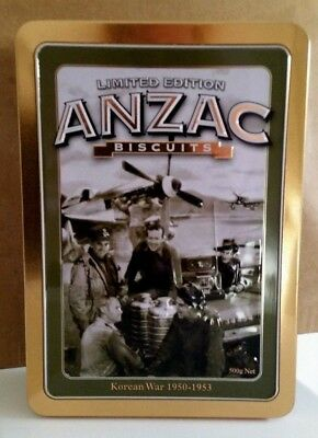 Limited Edition 2011 Anzac Biscuit Tin-Korean War 1950-1953-Excellent Condition!