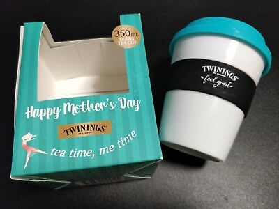 Twinings Coffee Tea Travel Plastic Cup Mother's Day Collectible Limited Edition