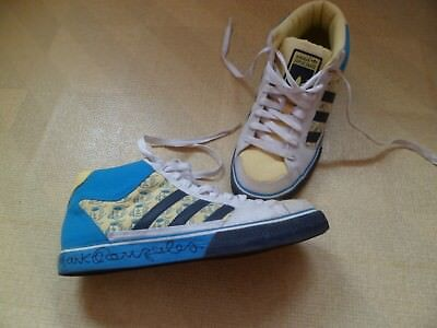 ADIDAS MARK GONZALES Men's Leather Suede Trainers Size Uk 6.5 RRP £80.00