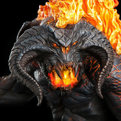 Lord of the Rings The Balrog Demon of Shadow and Flame Weta NEU / OVP