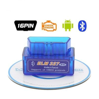 ELM327 Car Bluetooth Diagnostic Interface Scanner V2.1 OBD 2 OBD-II Android