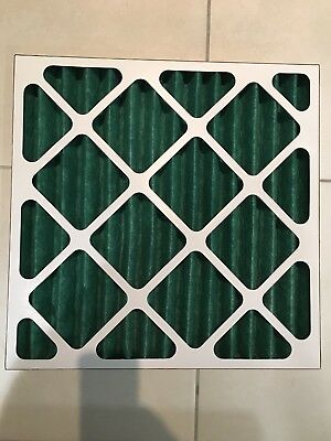 Spray Booth Pleated Air Inlet Panel Filter 495mm Square NEW