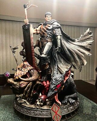 Sideshow Prime 1 Guts Statue, The Black Swordsman from Berserk Exclusive