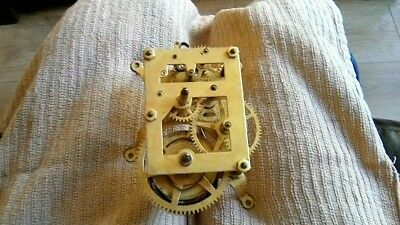 single train wall clock movement parts only