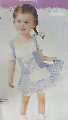 Dorothy Wizard of Oz Toddler Infant Costume Fun World 1171