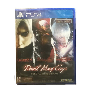 DEVIL MAY CRY DMC HD COLLECTION PS4 2018 Multi-Languages Pre-Owned