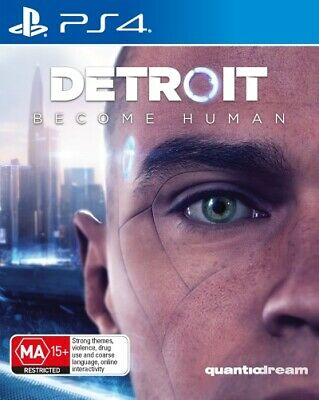 Detroit Become Human  - PlayStation 4 game - BRAND NEW