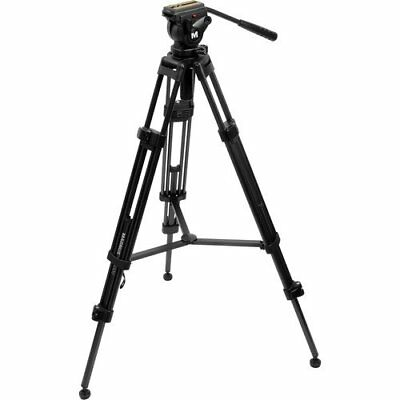 Vt-4000 Professional High Performance Tripod System With Fluid Head 847628547674