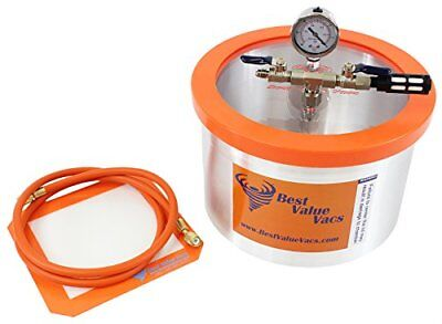 2 Gallon Vacuum Chamber To Degass Urethanes, Silicones And Epoxies  *New*