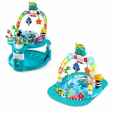 Baby Einstein 2-In-1 Lights & Sea Activity Center And Saucer  *New*