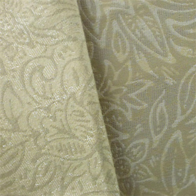 BEIGE/IVORY FLORAL JACQUARD Home Decorating Fabric, Fabric ...