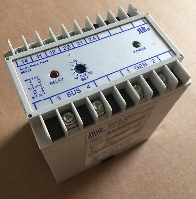 Basler Electric Be3-25-1A1N5 Synchronizing Check Relay