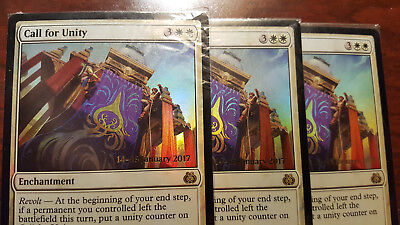 - Aether Revolt Foil Call for Unity 009//184 Magic The Gathering