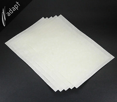"""Nomex 410 Insulation Paper 20 mil thick 5 each 8""""x12"""" Sheets Aramid Electrical"""