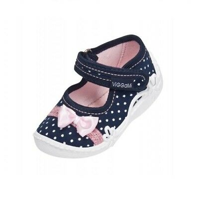 Beautiful Girls Canvas Spring Summer Shoes Ballerina Pumps Slippers Infant 2-8.5