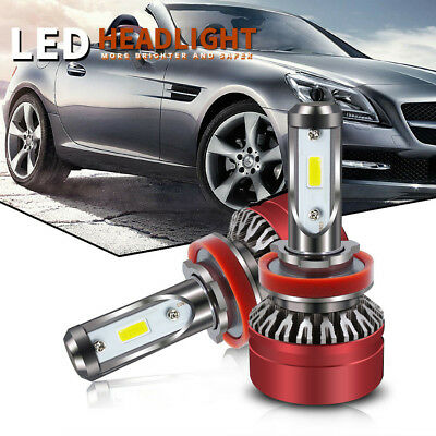 H8/H9/H11 LED Headlight Kit Auto Bulbs Light White Beam 6500K Lamp CANBUS Error