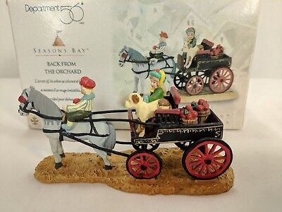 Dept. 56 - Seasons Bay Accessory BACK FROM THE ORCHARD # 53320  Ret. 2001