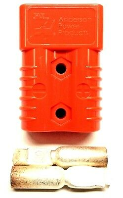 6327G6 Anderson Original SB 175 Battery Connector Orange #4 AWG