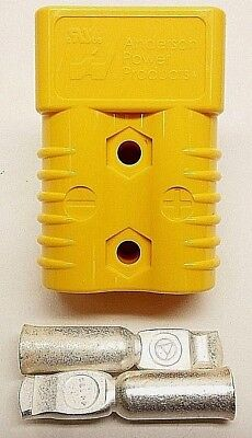 6328G5 Anderson Original SB 175 Battery Connector Yellow #2 AWG