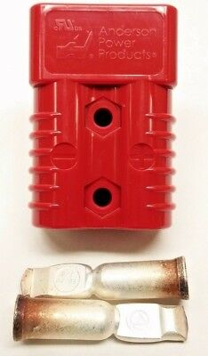 6329G1 Anderson Original SB 175 Battery Connector Red 1/0 AWG