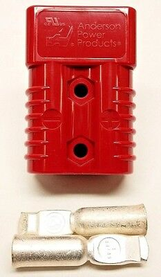 6329G5 Anderson Original SB 175 Battery Connector Red #2 AWG