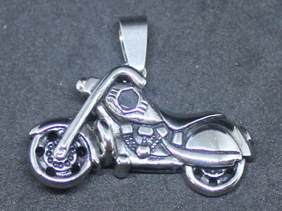 "Without ""HD"" motorcycle Style Pendant Key Ring 316L Stainless Steel"