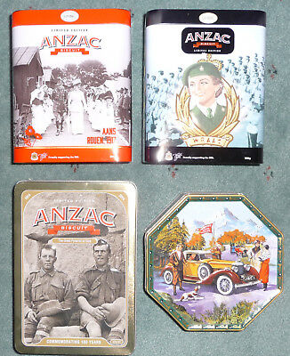 Anzac Biscuit Tins