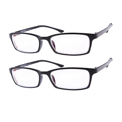 2 Pairs Near-sighted Short-sighted Myopia Glasses**These are not reading Glasses