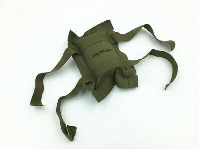 Collection WWII US Military Army Trooper Soldier First Aid Kit Bandage Medic