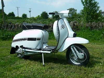 LAMBRETTA GP200 1978 UK reg'd LONG MOT New Restoration BUY AND RIDE see Video