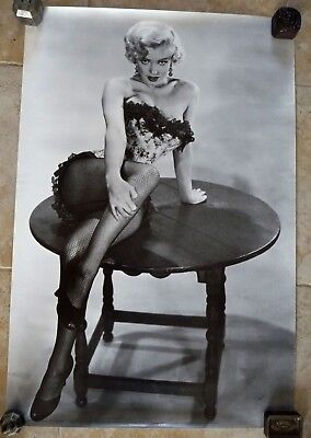 Tres Beau Poster / Affiche Ancienne Marilyn Monroe / 3