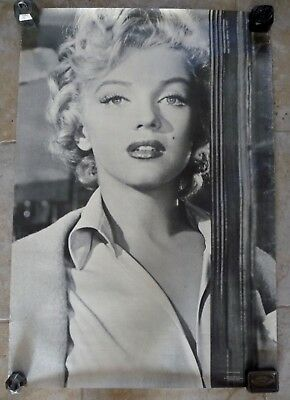 Tres Beau Poster / Affiche Ancienne Marilyn Monroe / 7