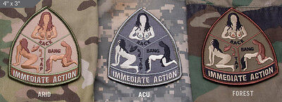 Immediate Action Patch Paintball Airsoft Gotcha Magfed