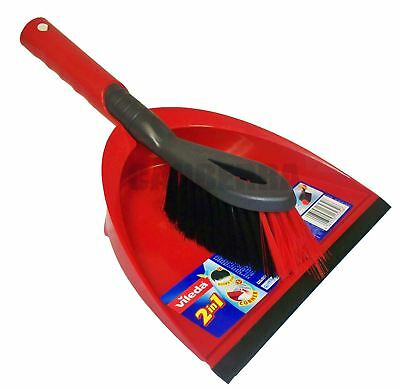 Shovel Dust Pan and Brush Set Large Plastic Garden Patio Cleaning Sweeping Tools