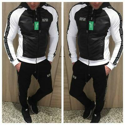99b3a086 HUGO BOSS MAN'S Tracksuit - white - £65.00 | PicClick UK
