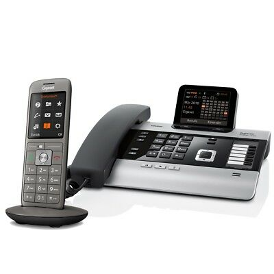 Gigaset DX800A Voice over IP- / ISDN-Mini-Telefonanlage mit 1x Mobilteil CL660HX
