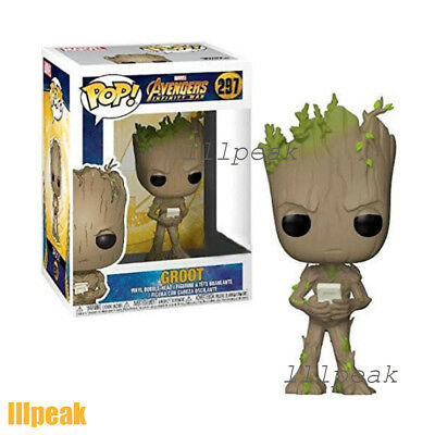 Teen Game Groot Avengers Infinity War #297 Funko Pop Marvel Comics Vinyl Figure