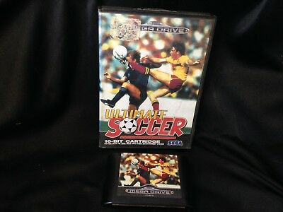 Ultimate Soccer, SEGA Mega Drive Game, Trusted Ebay Shop