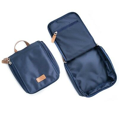 "Mens Gifts - ""Green Park"" Travel & Accessory Case - Blue Ballistic Nylon Case"