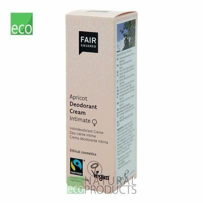 Fair Squared Natural Intimate Deodorant Cream Apricot 30ml