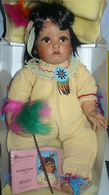 Children of the High Caparral Collection Crying Eyes Kelly Rubert Porcelain Doll