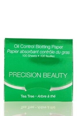 100 or 200 Sheets Precision Beauty Oil Control Blotting Paper -4 Types Available