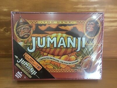 NEW 2017 Cardinal Jumanji The Game Wooden Box Board Game Sealed Collectors