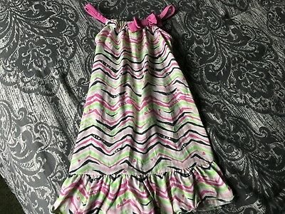 Gymboree Little Girl Nightgown Size Small (5-6)