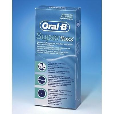 1 x Oral -B Super Floss 50 PRE-CUT STRANDS, Dental Floss , super fast delivery
