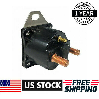 New Starter Solenoid Relay 12 Volt For Ford 3-Terminal Sw1951, Sw1951A 15-450