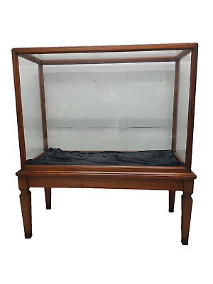 Rare Large Oak Showcase out of the Victoria & Albert Museum in London