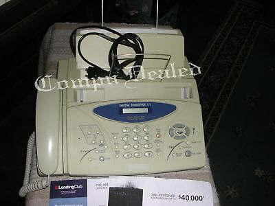 Brother Intellifax 775 Plain Paper Fax + Phone + Copier + prtd manual, Nice Cond