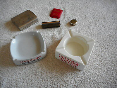 Vintage Cigarette Collectibles: 2 x Roll Your Own Devices 2 x Ashtrays and more