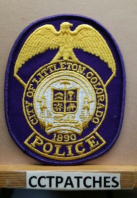 City Of Littleton, Colorado Police Shoulder Patch Co